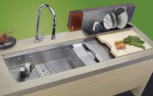 Neat Sinks for a Small Kitchen (and a Dishwasher Sink Too) Raven Tao ...