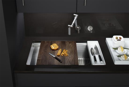 Neat Sinks For A Small Kitchen And A Dishwasher Sink Too