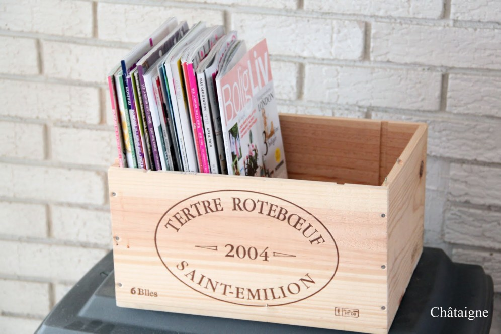 Wine crates 1 - Chataigne