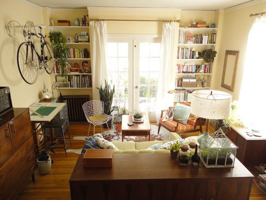 Cool Small Spaces : Apartment Therapy