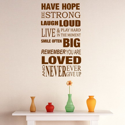 Love Inspirational Quotes For Bedroom Interior Decorating Ideas Wall Stickers Art Raven Tao